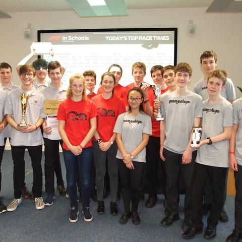 F1 in Schools Regional Final 2018 (1)