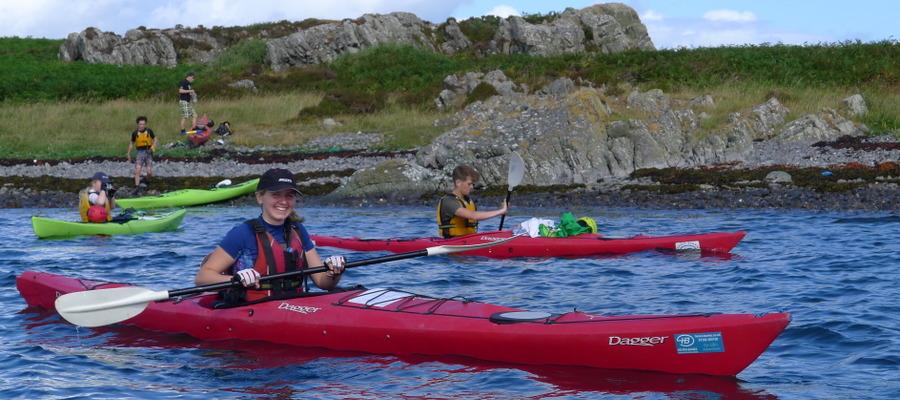 Kayaking Gold DofE expedition 2018 (45)