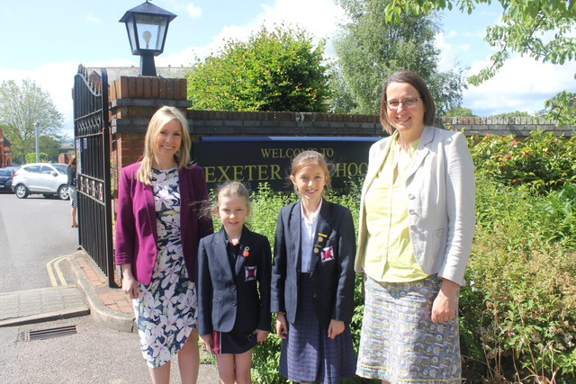 Carnegie Award success for Exeter Junior School
