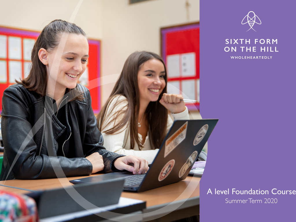 Farnborough Hill launches a bespoke A level Foundation Course