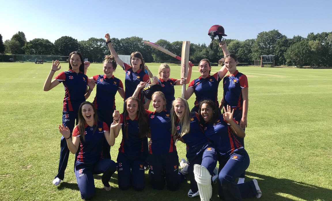 Felsted girls cricket national champions