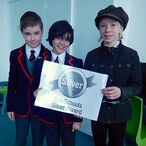 Silver Eco Award for Grace Dieu Pupils (1)