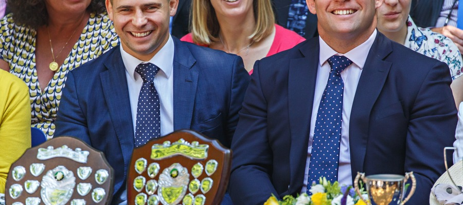 Tom and Ben Youngs, Prep School Speech Day - credit Chris Taylor photography