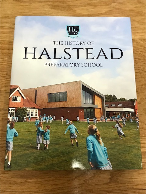 Our first Halstead History book has arrived!