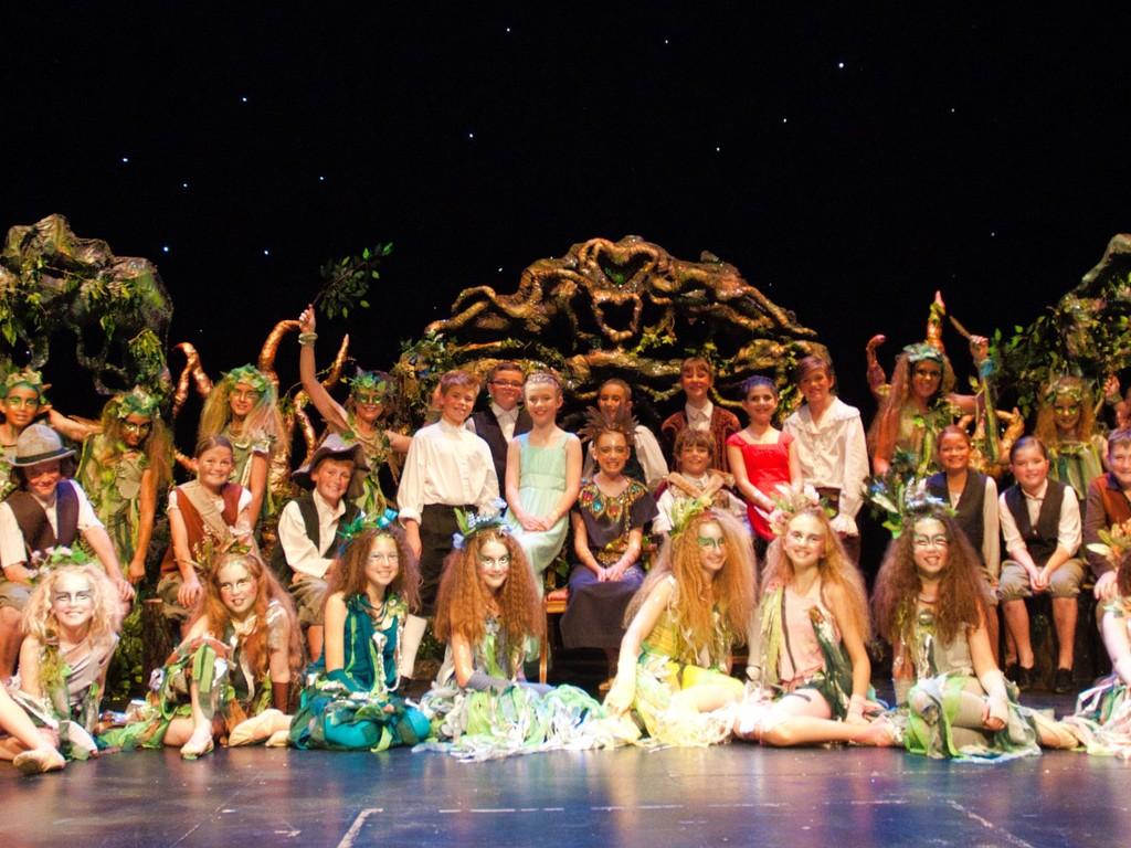 Highfield Prep School Year 6 pupils cast A Midummer Night's Dream