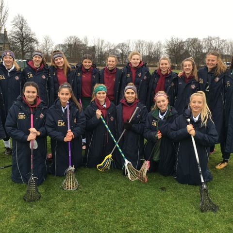 Harrogate Ladies' College First Lacrosse Squad