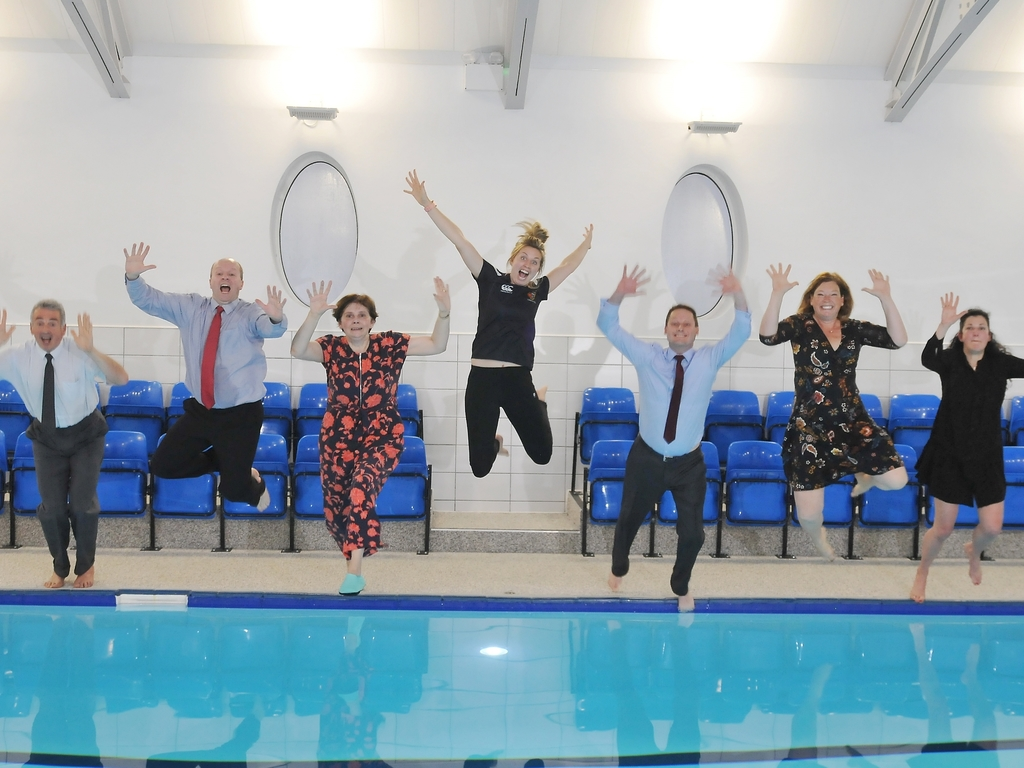 Making a Splash at Harrogate Ladies' College!
