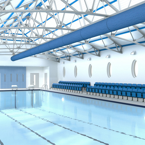 Harrogate Ladies' College Swimming Pool - Artist's Impression