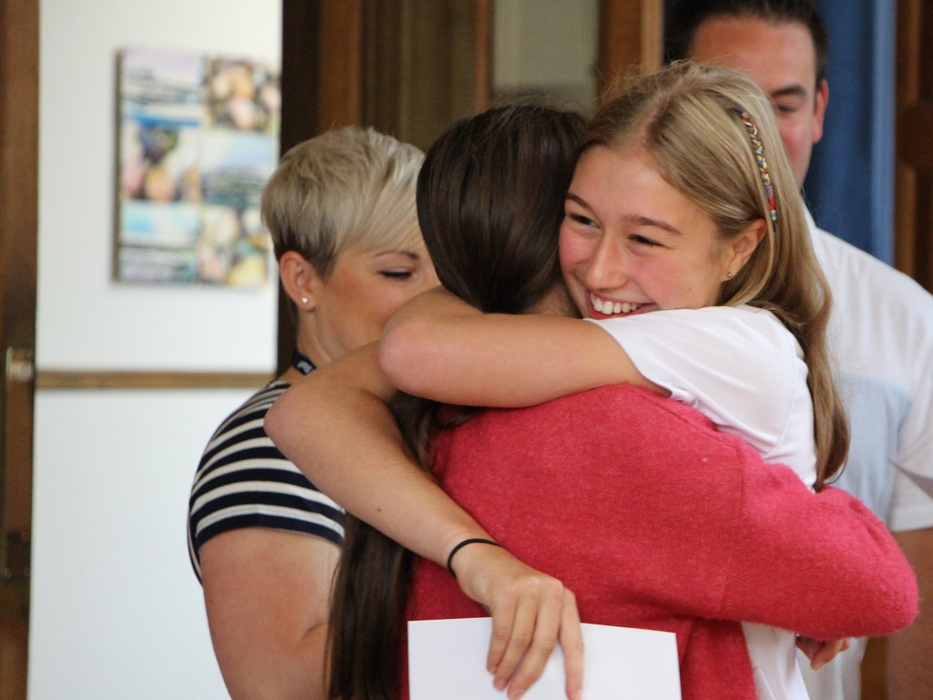 Headington girls celebrate fantastic GCSE results