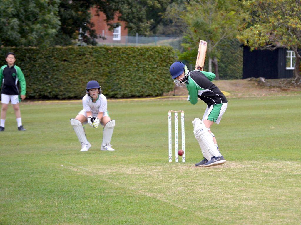 U13 Boys' Cricket team at Highfield and Brookham Schools