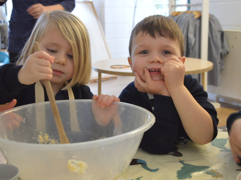 Nursery children from Highfield and Brookham Schools.
