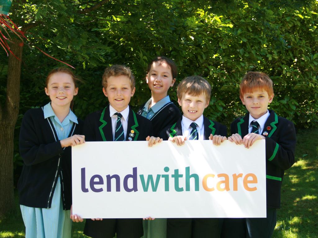 HIghfield Prep School Pupils - Poppy Riall, Alex Jones, Reewa Bennett, Adam Warbuton, Jonty Roberts