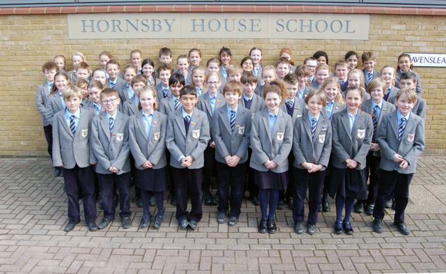Year 6 at Hornsby House School