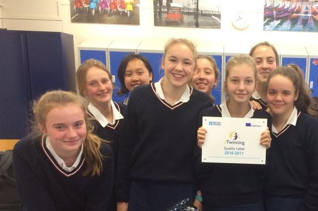 JAGS receives EU eTwinning award for international learning projects