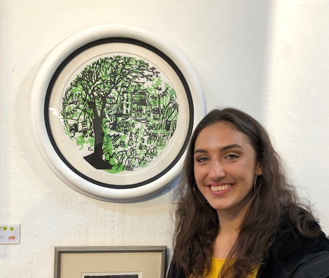 JAGS Girls' artwork on display at the Royal College of Art