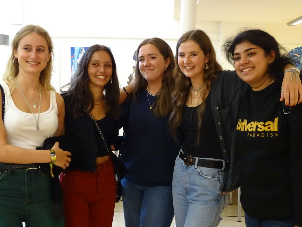 Celebrations for pupils at JAGS following a fantastic set of A level results