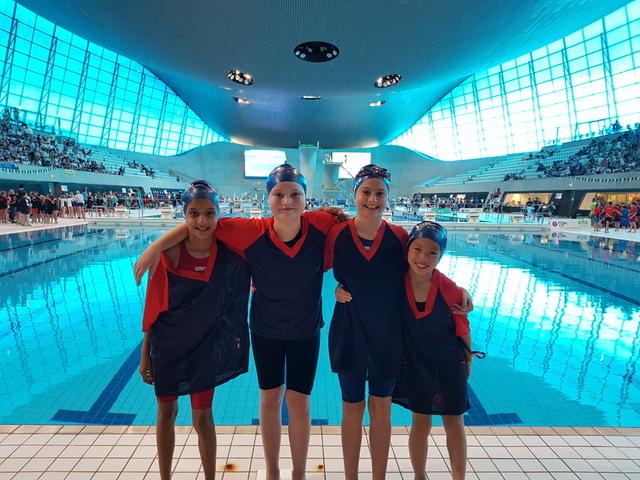 IAPS Team at Aquatics Centre