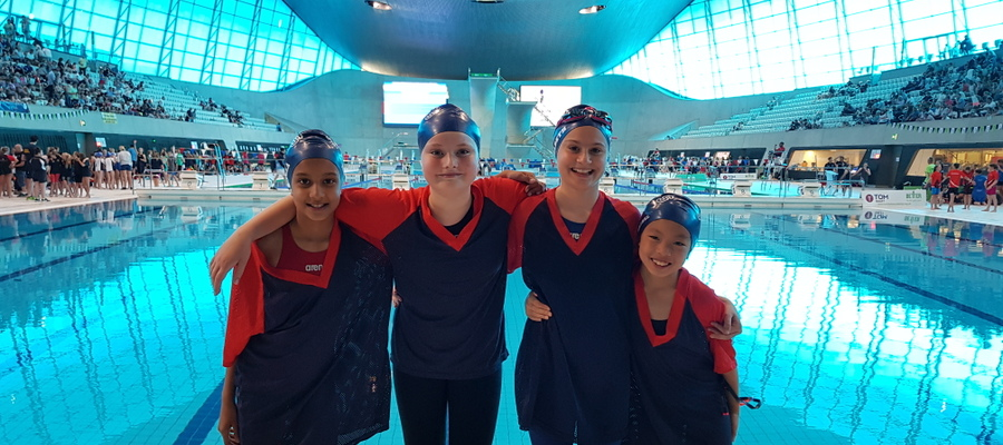 IAPS Team at Aquatics Centre