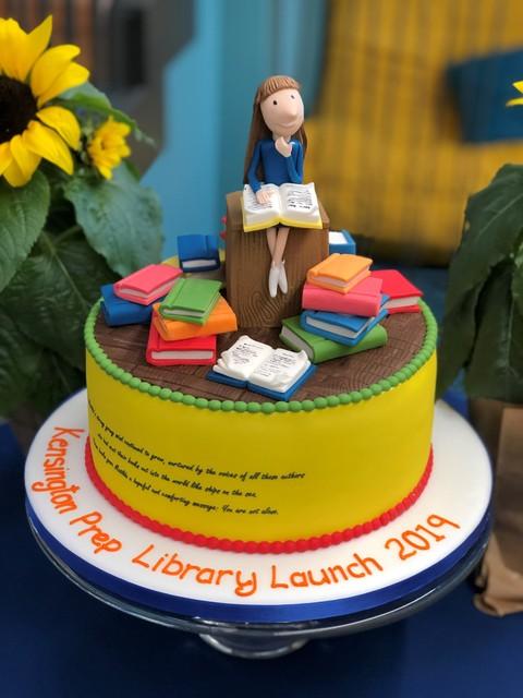 Library transformation at Kensington Prep School