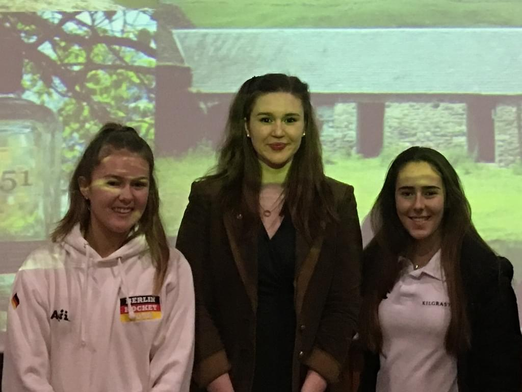 Young gin-making entrepreneur inspires Kilgraston pupils