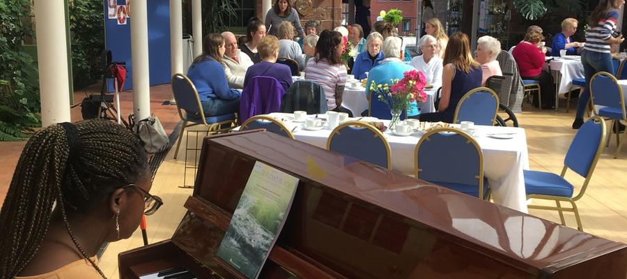 Contact the Elderly tea party at Kilgraston School