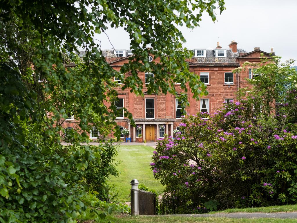Kilgraston School main building and grounds.