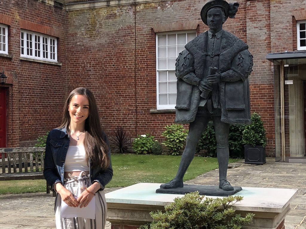 Alice Crisell - Day pupil from Godalming