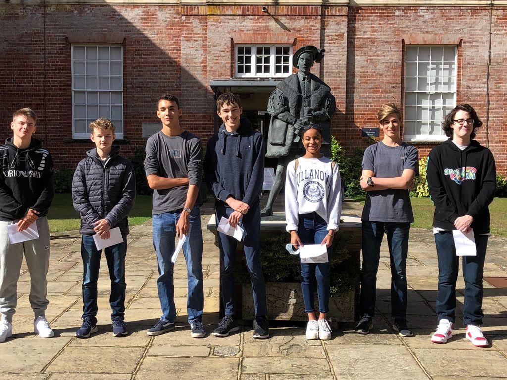 King Edward's GCSE & IGCSE pupils