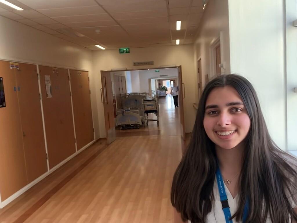 Jaya's high pressure NHS job in a time of Covid