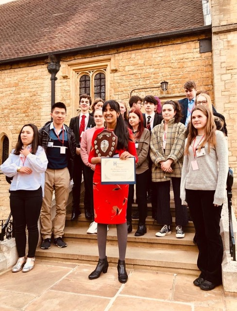Shivanii wins National Debating Contest drawing on Black Country Roots