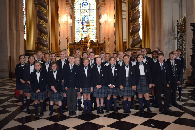 KEJ Chamber Choir at St Pauls