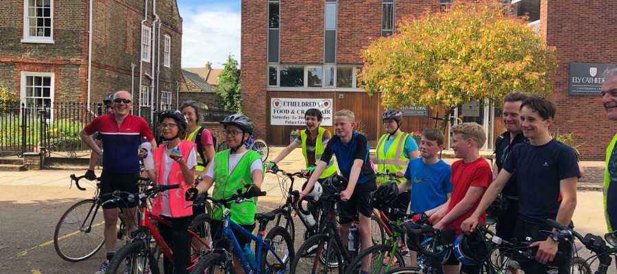 Chorister Cycle Ride