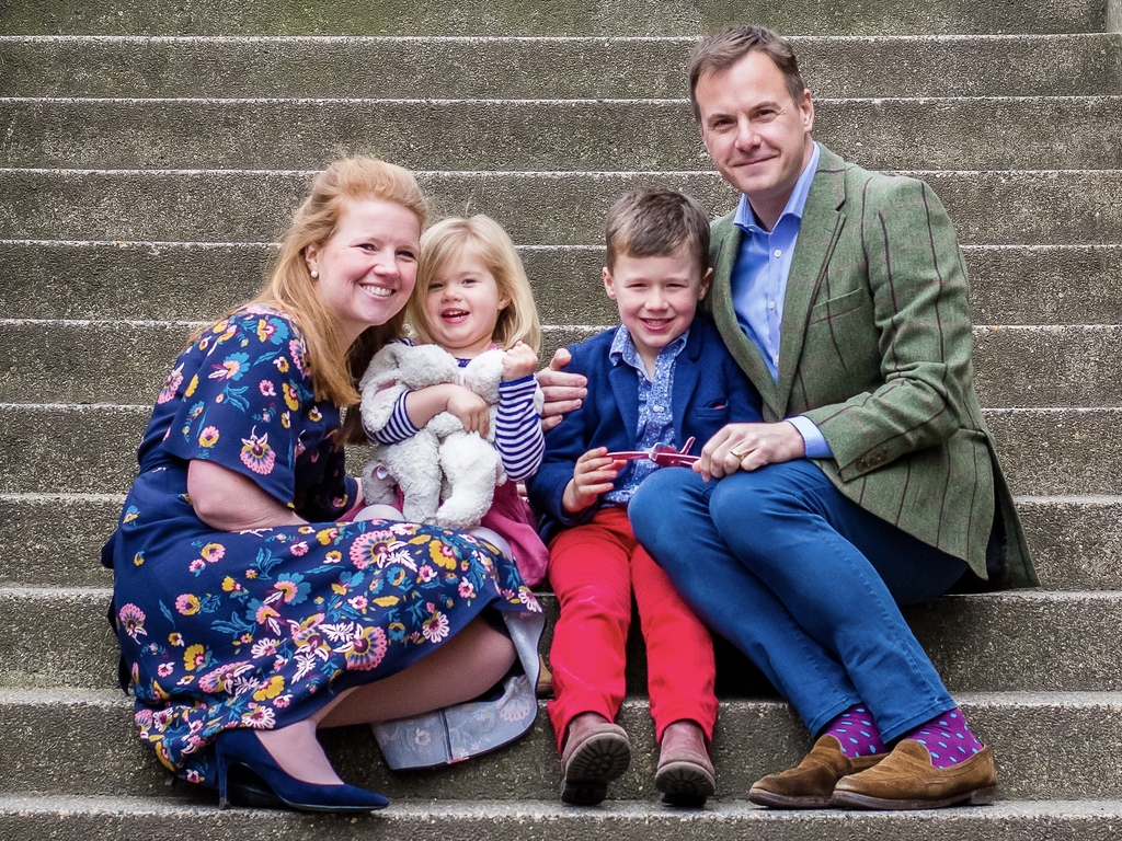 New King's Headmaster_Gareth Doodes and Family_Nov 2019