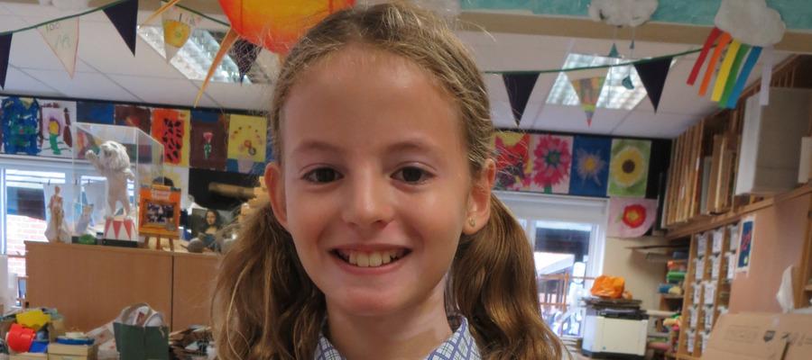 Maltman's Green pupil, Alexandra, wins cake design competition