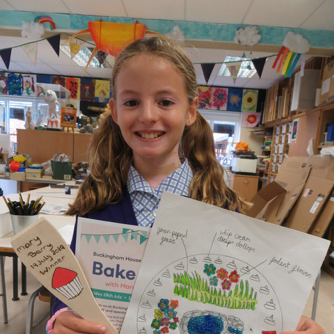Maltman's Green pupil, Alexandra, wins cake design competition