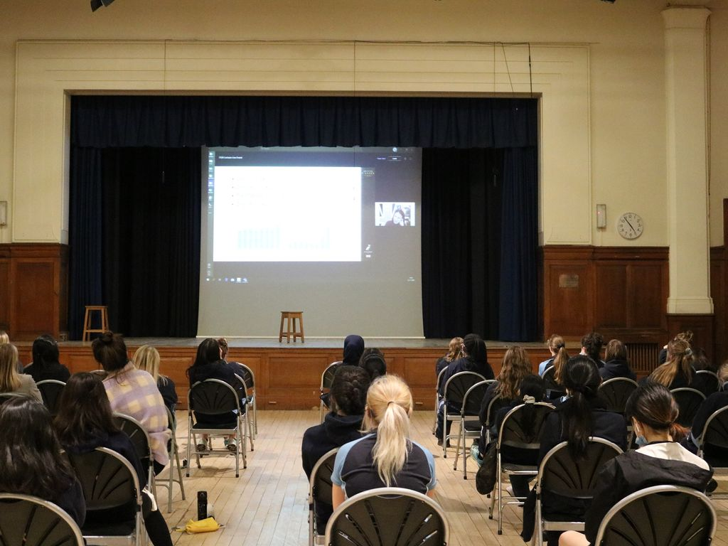 Malvern St James Girls' School Sixth Form Lecture