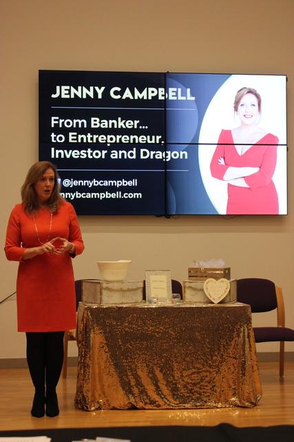 BBC Dragon Returns to Former School to Promote Female Entrepreneurship