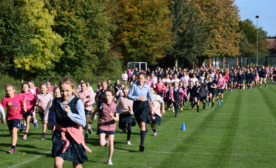 Race for Life in support Cancer Research UK