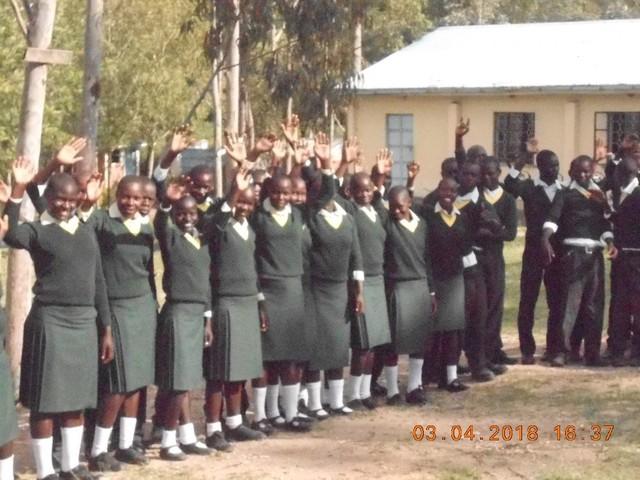 Manor House School Recycles Old Uniform & Brings Kenyan