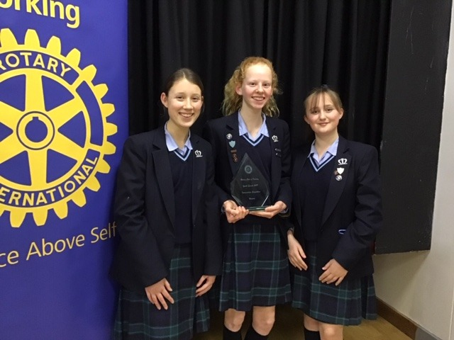 Year 9 Public Speaking Team