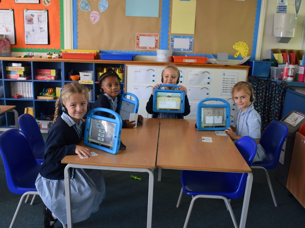 New ipads in Lower Prep