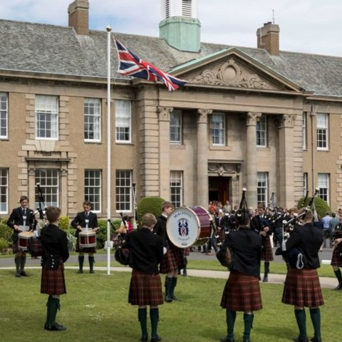 Merchiston-Castle-School- Pipe-Band-100-Pipers