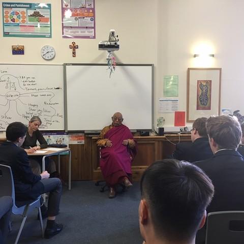 Buddist Monk 1