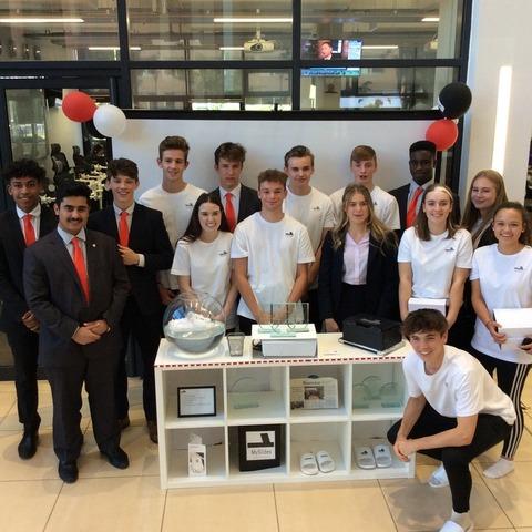 Haberdashers' Monmouth Schools' MySlides team.