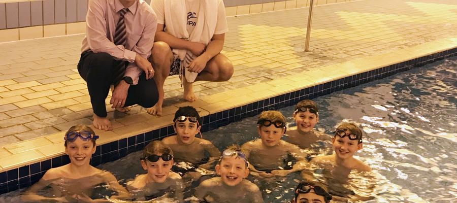 Thomas Haffield Swimming Academy launch