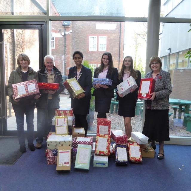 Monmouth students provide Christmas cheer for Eastern European children