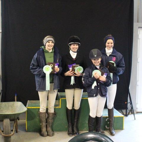Alice Garfield, Flora Macfarlane, Bibi Zijlmans and Holly Thomas will represent Haberdashers' Monmouth Schools at the Royal Windsor Horse Show.