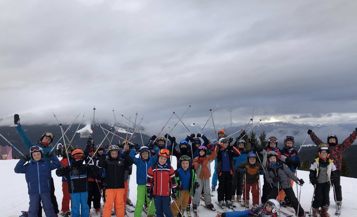 Moulsford ski trip