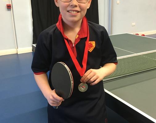 Table Tennis Champ Daniel