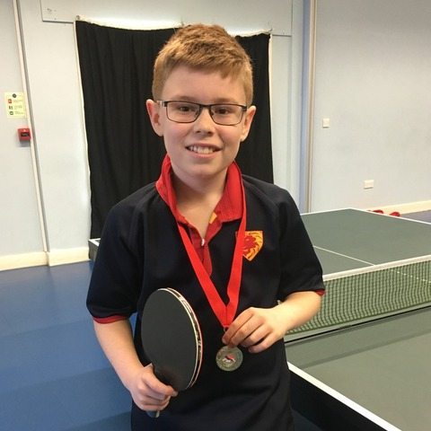 Table Tennis Champ Daniel